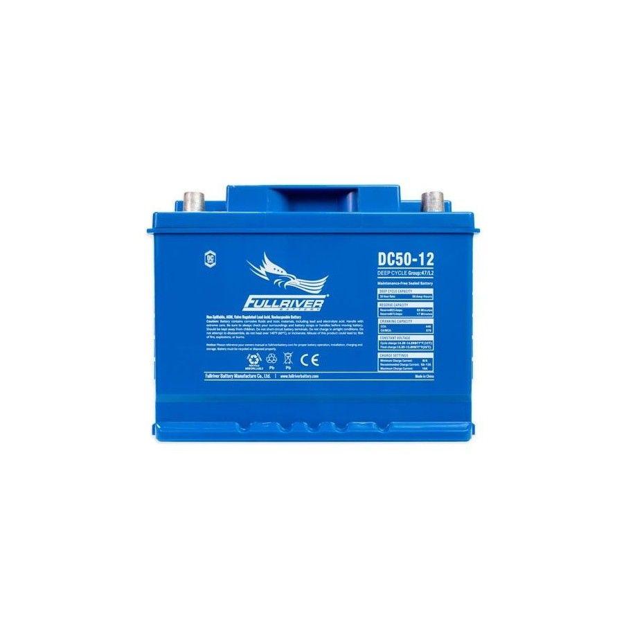 Battery Fullriver DC50-12A 50Ah 440A 12V Dc FULLRIVER - 1