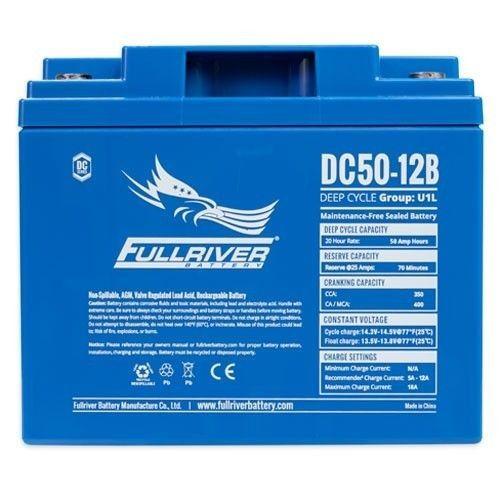 Battery Fullriver DC50-12B 50Ah 350A 12V Dc FULLRIVER - 1