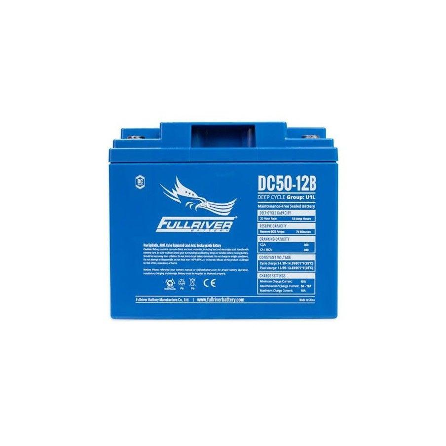 Batería Fullriver DC50-12B 50Ah 350A 12V Dc FULLRIVER - 1