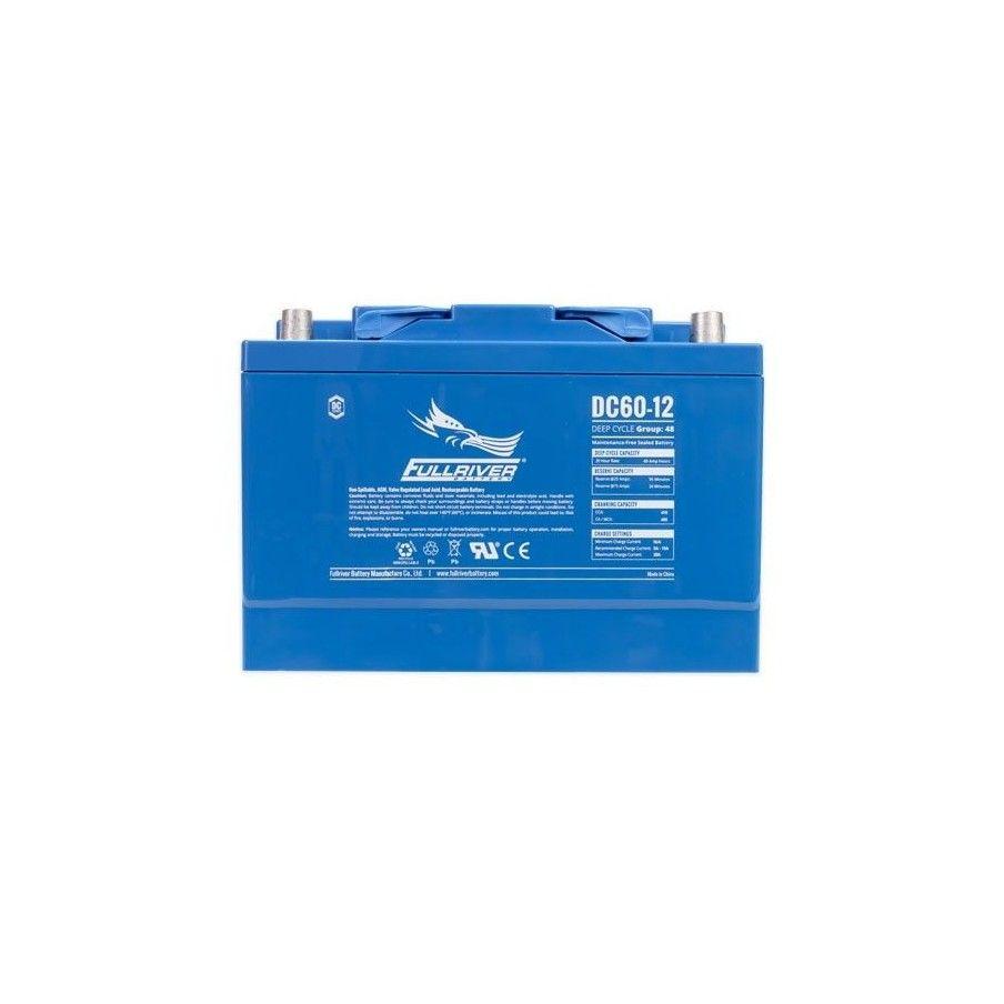 Batería Fullriver DC60-12A 60Ah 410A 12V Dc FULLRIVER - 1