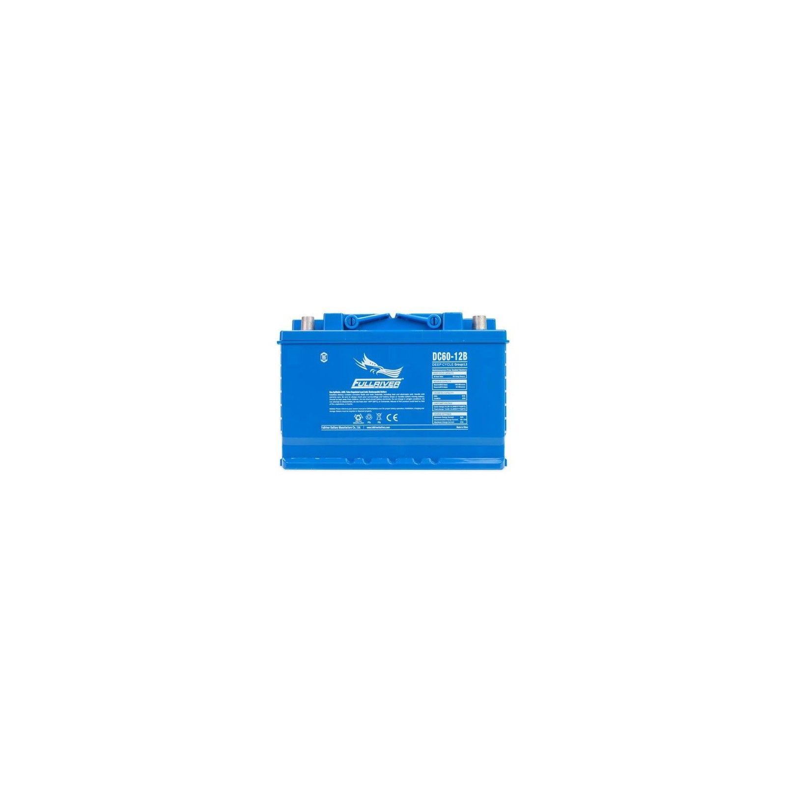 Battery Fullriver DC60-12B 60Ah 510A 12V Dc FULLRIVER - 1