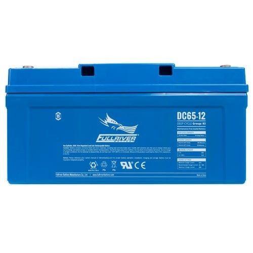 Batería Fullriver DC65-12A 65Ah 430A 12V Dc FULLRIVER - 1