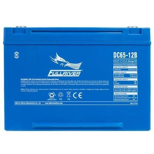Batería Fullriver DC65-12B 65Ah 490A 12V Dc FULLRIVER - 1