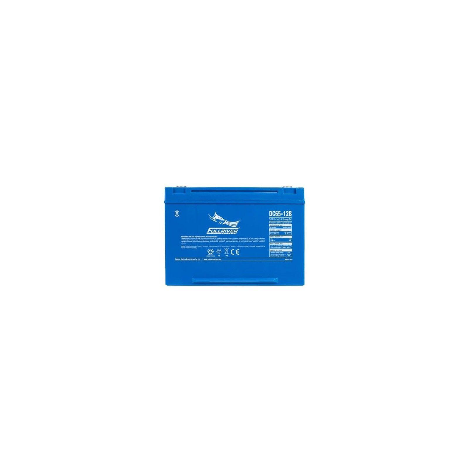 Battery Fullriver DC65-12B 65Ah 490A 12V Dc FULLRIVER - 1