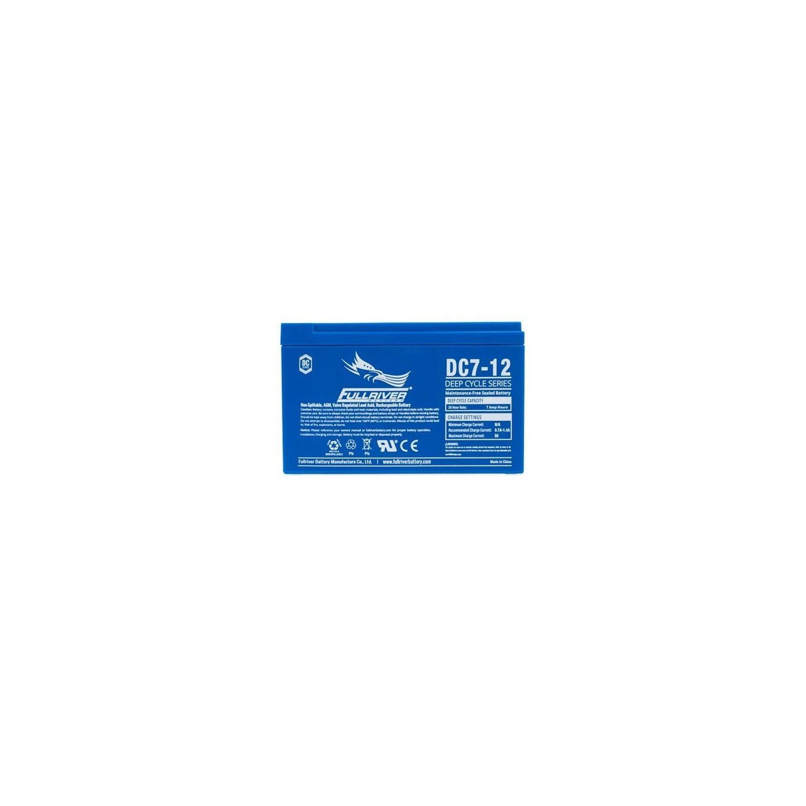 Batería Fullriver DC7-12 7Ah 12V Dc FULLRIVER - 1