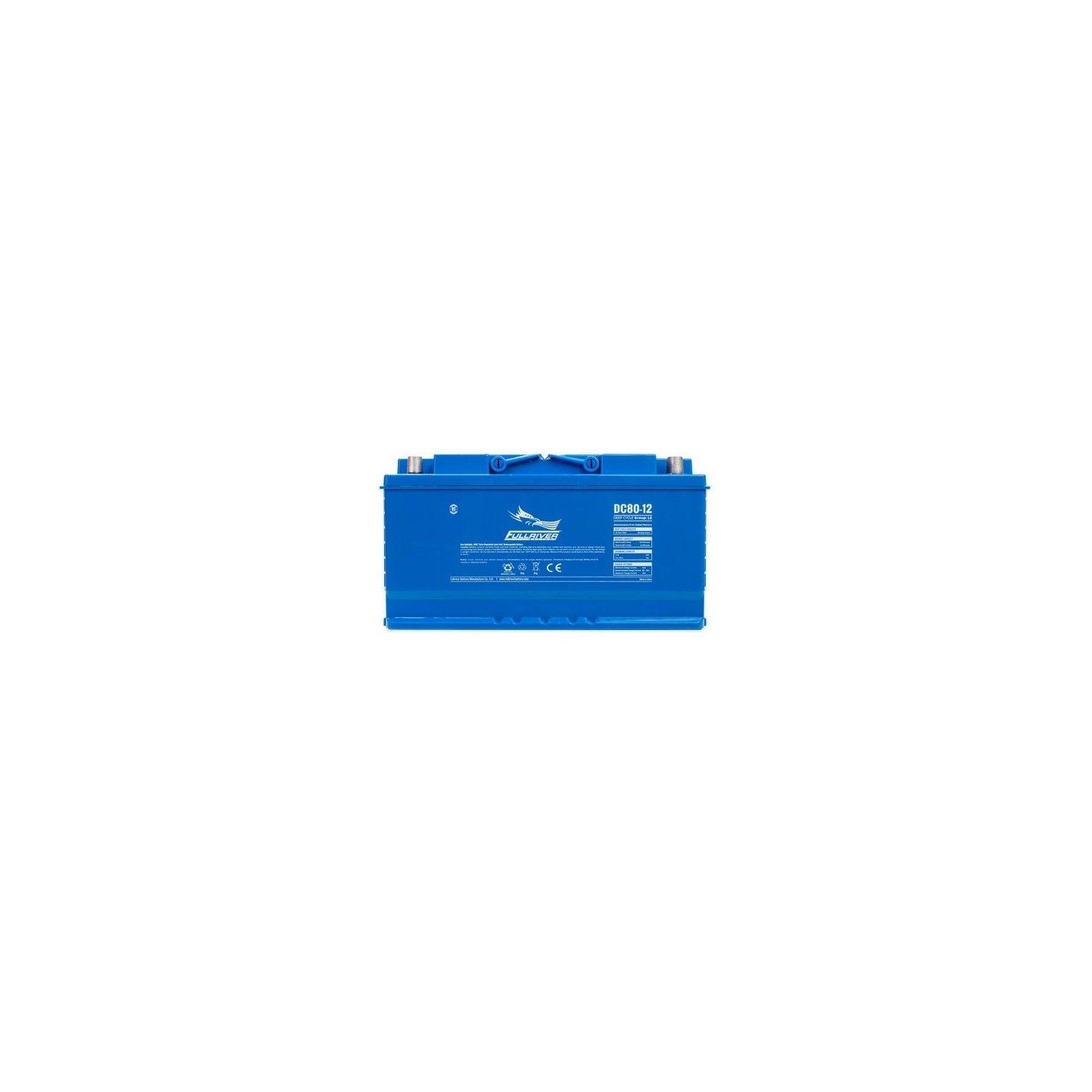 Batería Fullriver DC80-12 80Ah 630A 12V Dc FULLRIVER - 1
