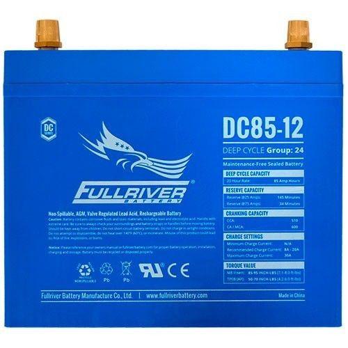 Batería Fullriver DC85-12 85Ah 510A 12V Dc FULLRIVER - 1