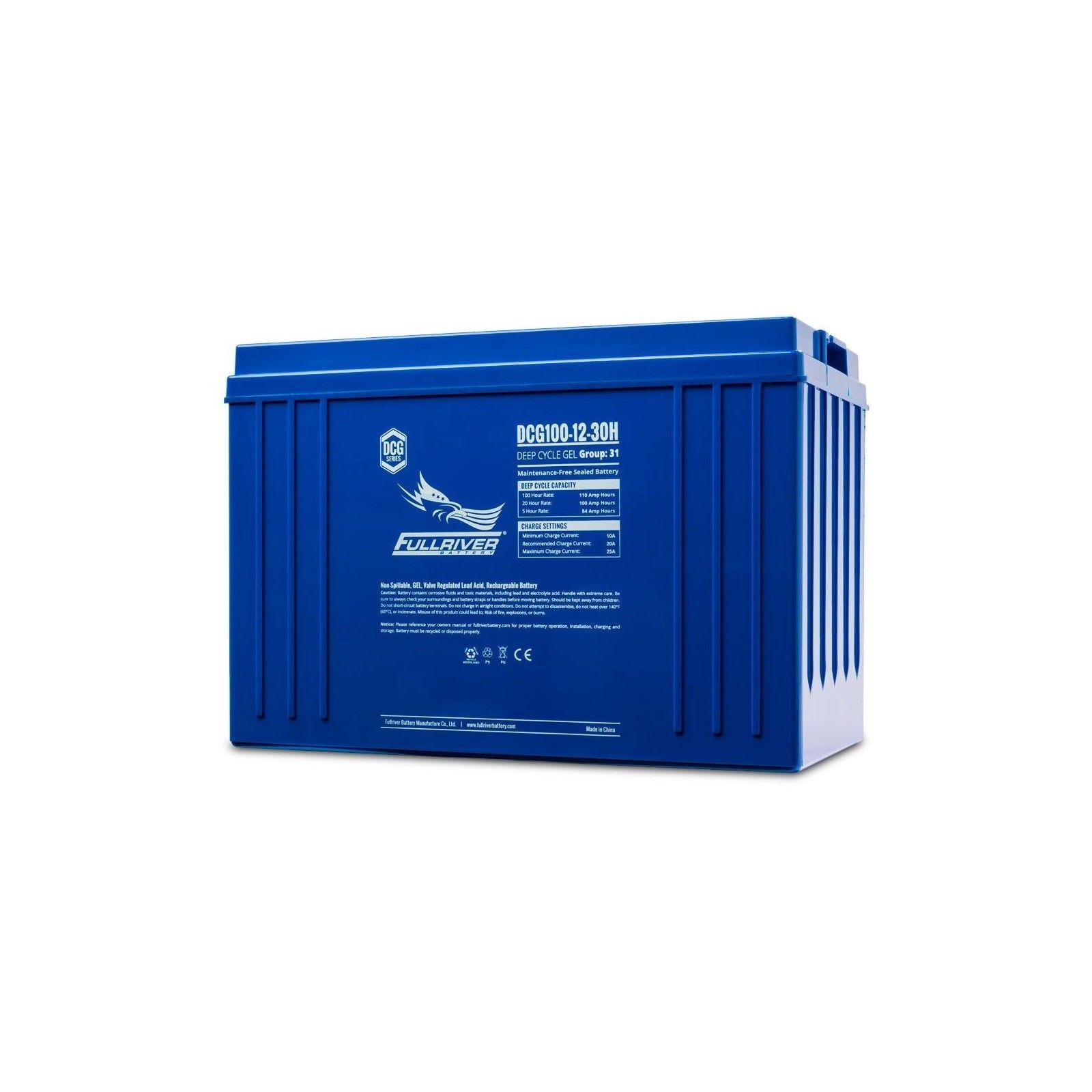 Batería Fullriver DCG100-12 100Ah 12V Dcg FULLRIVER - 1