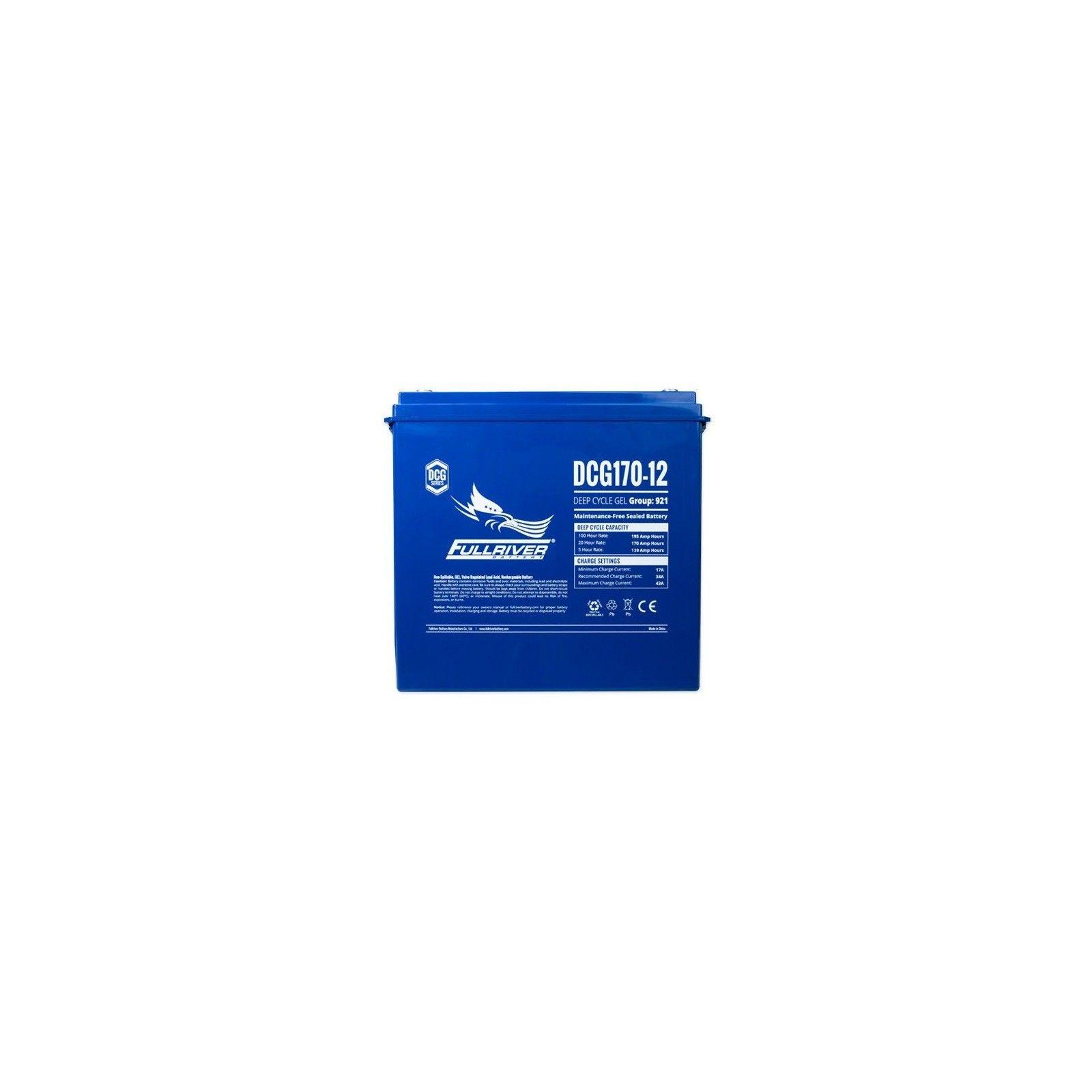 Batería Fullriver DCG170-12 170Ah 12V Dcg FULLRIVER - 1