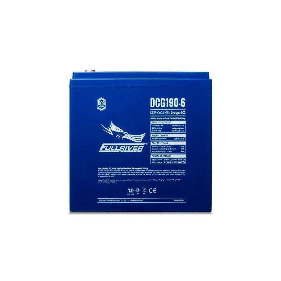 Batería Fullriver DCG190-6 190Ah 6V Dcg FULLRIVER - 1