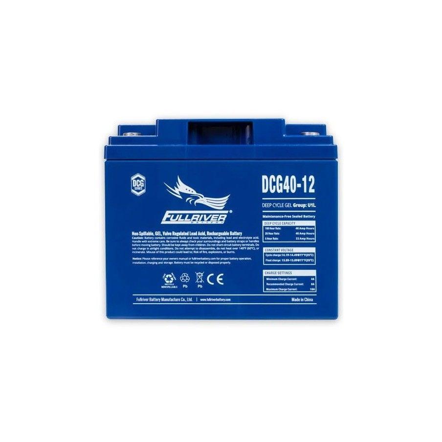 Batería Fullriver DCG40-12 40Ah 12V Dcg FULLRIVER - 1