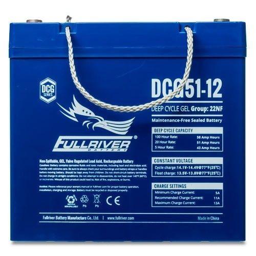 Batería Fullriver DCG51-12 51Ah 12V Dcg FULLRIVER - 1