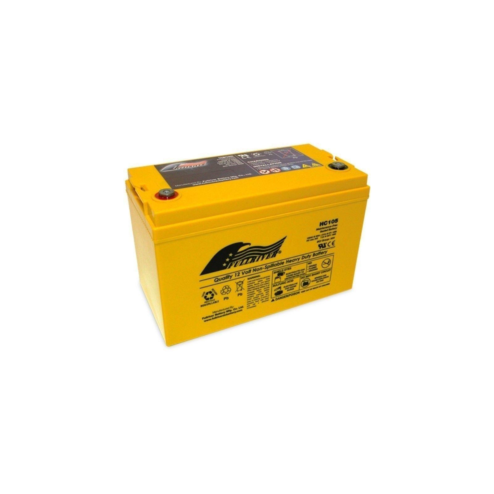 Battery Fullriver HC105 105Ah 1050A 12V Hc FULLRIVER - 1