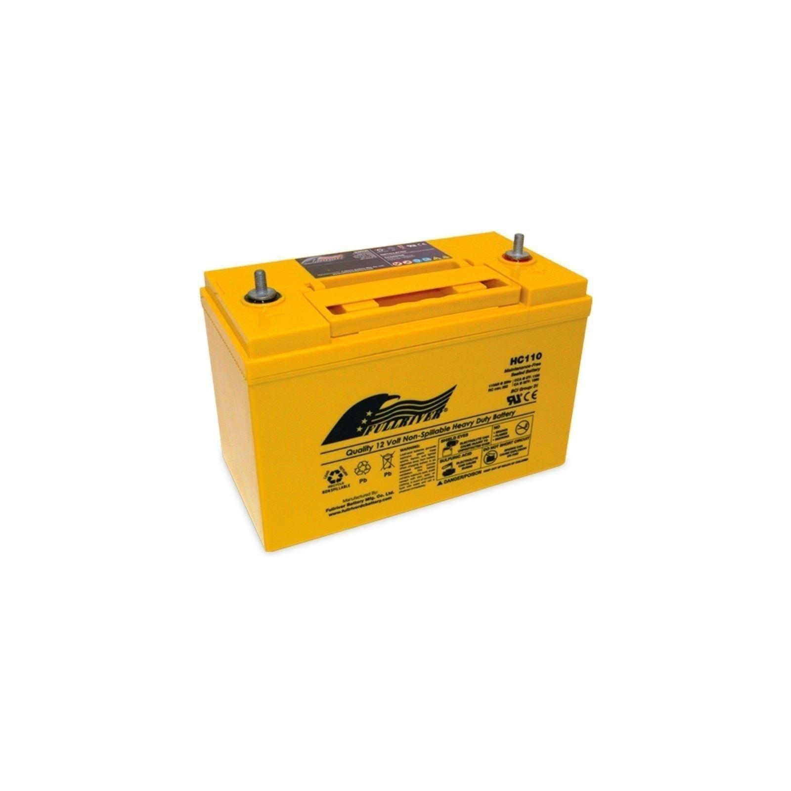 BATERIA Fullriver FULLRIVER HC110 110Ah 1100A 12V FULLRIVER - 1
