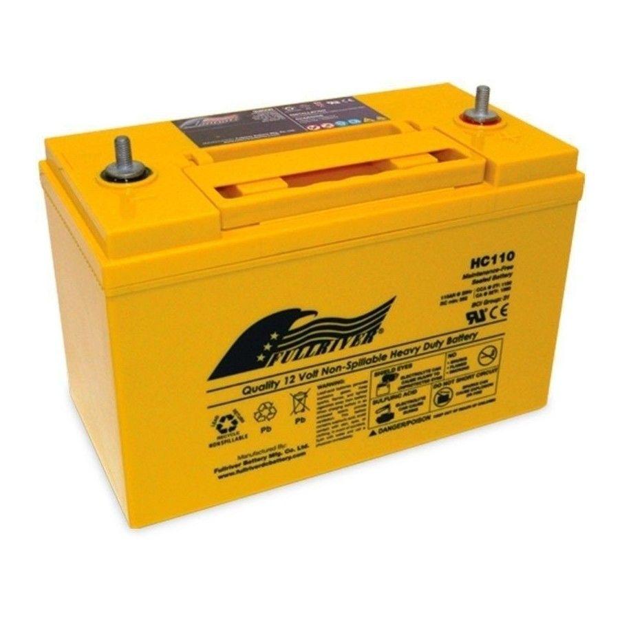 Batería Fullriver HC110 110Ah 1100A 12V Hc FULLRIVER - 1