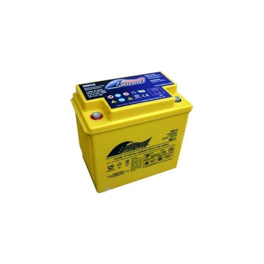 Battery Fullriver HC14A 14Ah 200A 12V Hc FULLRIVER - 1