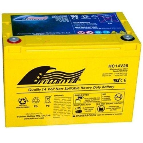 Battery Fullriver HC14V25 25Ah 375A 14V Hc FULLRIVER - 1