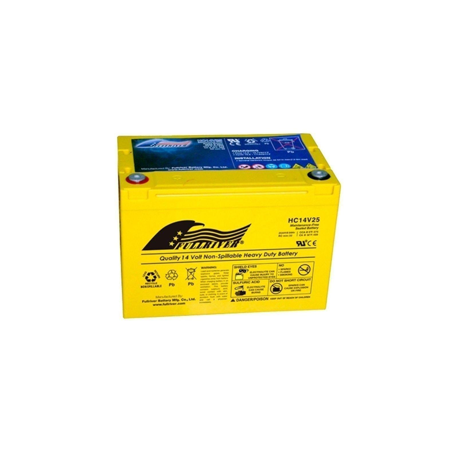 Batería Fullriver HC14V25 25Ah 375A 14V Hc FULLRIVER - 1