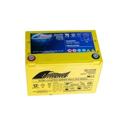 Batería Fullriver HC14V50 50Ah 570A 14V Hc FULLRIVER - 1