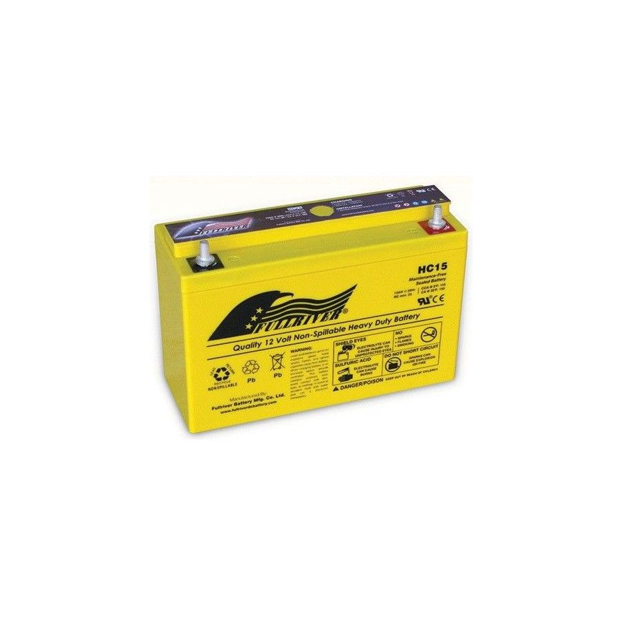 Batería Fullriver HC15 15Ah 156A 12V Hc FULLRIVER - 1