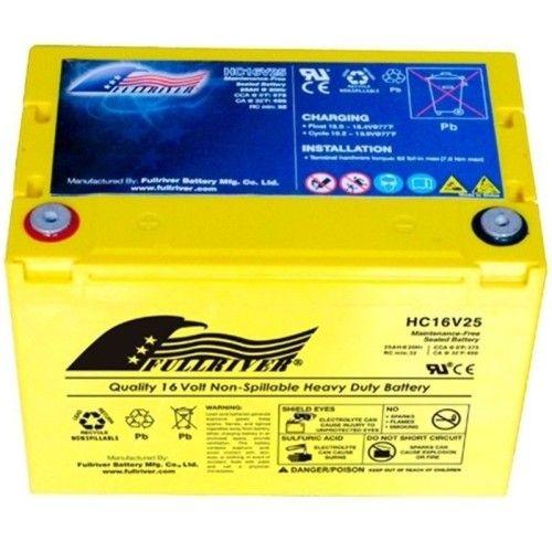 Batería Fullriver HC16V25 25Ah 375A 16V Hc FULLRIVER - 1