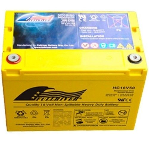 Batería Fullriver HC16V50 50Ah 570A 16V Hc FULLRIVER - 1