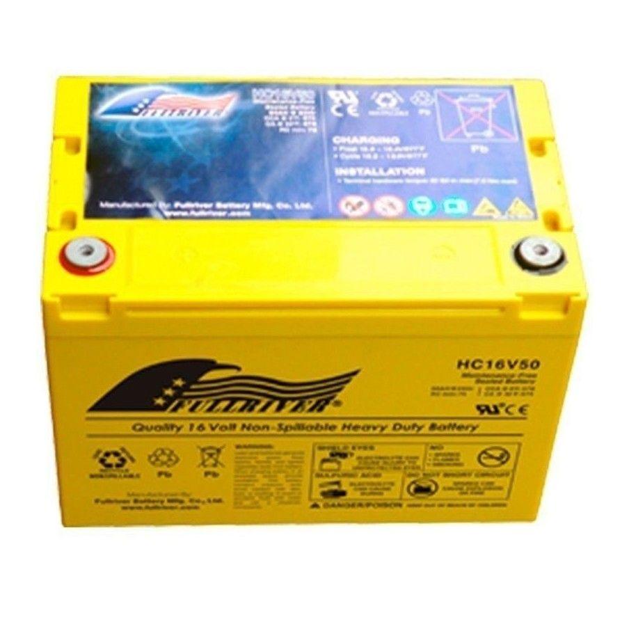 BATERIA Fullriver FULLRIVER HC16V50 50Ah 570A 16V FULLRIVER - 1