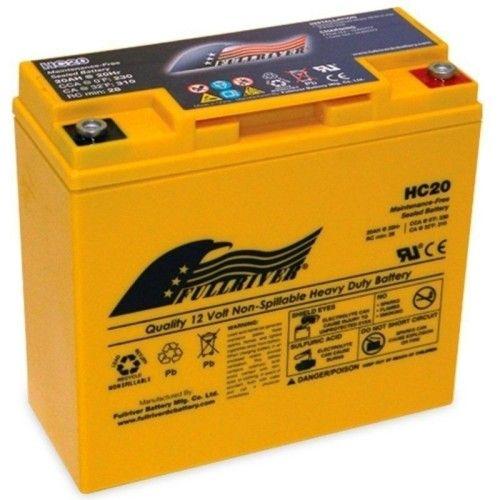 Battery Fullriver HC20 20Ah 230A 12V Hc FULLRIVER - 1