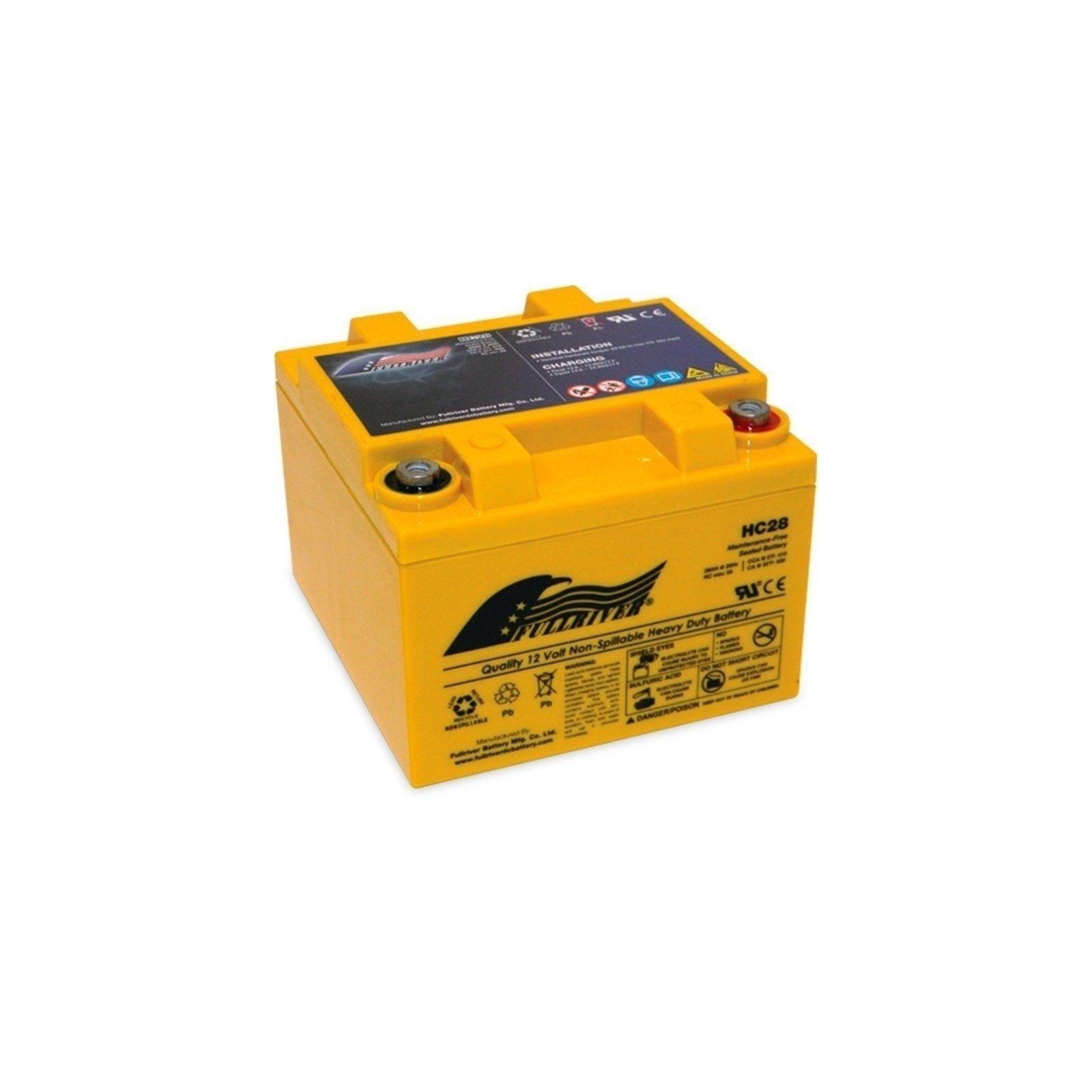 Battery Fullriver HC28 28Ah 410A 12V Hc FULLRIVER - 1