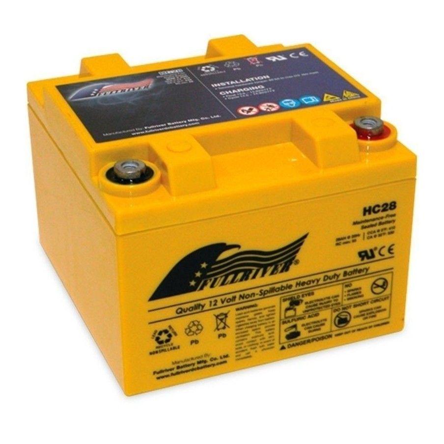 Batería Fullriver HC28 28Ah 410A 12V Hc FULLRIVER - 1