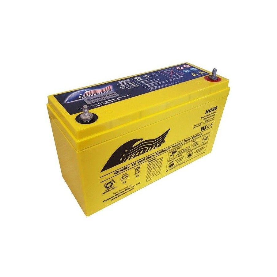 Battery Fullriver HC30 30Ah 450A 12V Hc FULLRIVER - 1