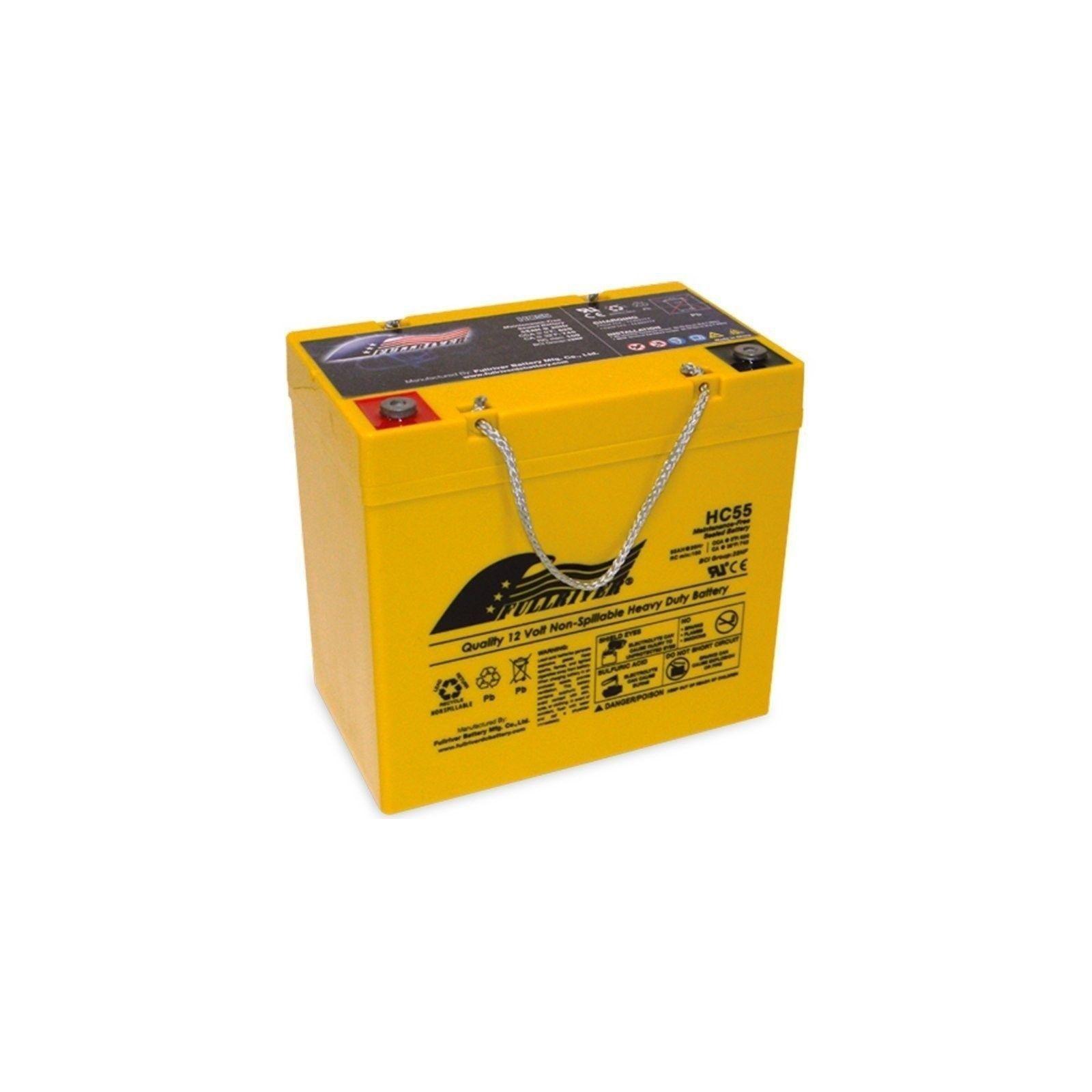 BATERIA Fullriver FULLRIVER HC55 55Ah 620A 12V FULLRIVER - 1