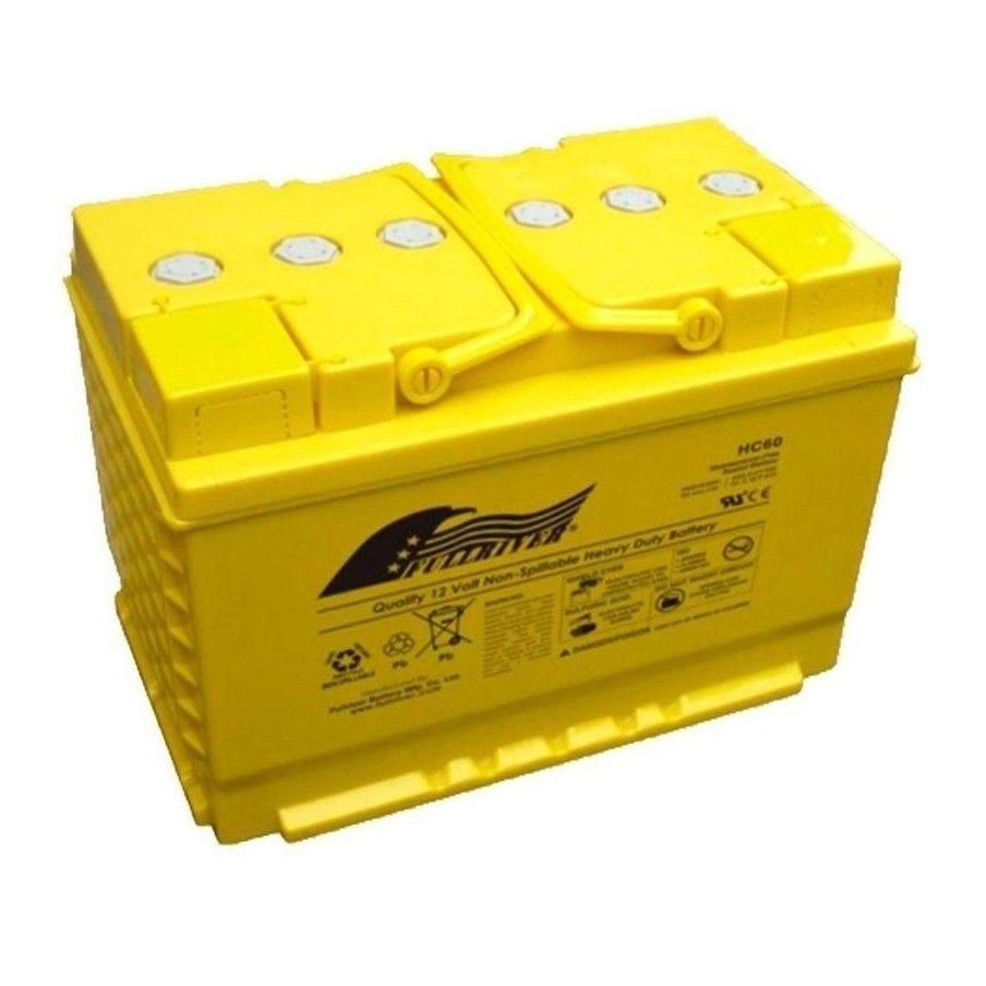 Battery Fullriver HC60 60Ah 700A 12V Hc FULLRIVER - 1