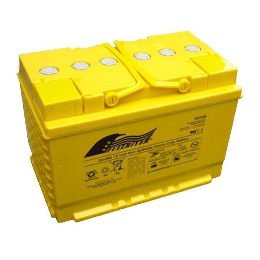 BATERIA Fullriver FULLRIVER HC60B 60Ah 625A 12V FULLRIVER - 1