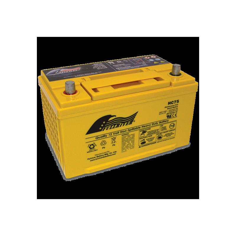 BATERIA Fullriver FULLRIVER HC75 75Ah 930A 12V FULLRIVER - 1
