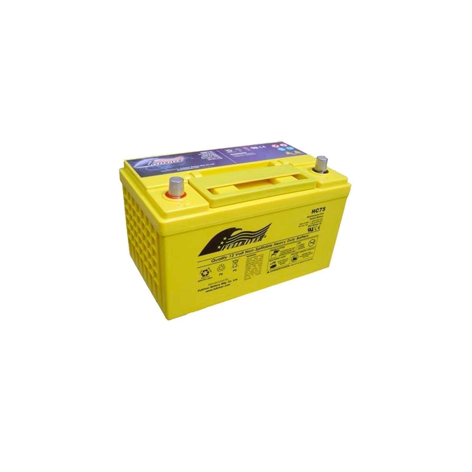 Batería Fullriver HC75X 75Ah 930A 12V Hc FULLRIVER - 1
