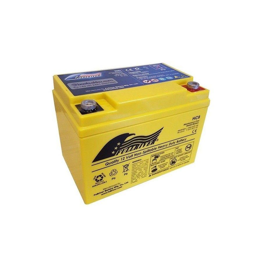 Batería Fullriver HC8 8Ah 100A 12V Hc FULLRIVER - 1