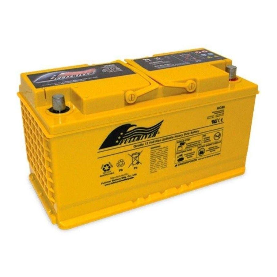 Battery Fullriver HC80 80Ah 815A 12V Hc FULLRIVER - 1