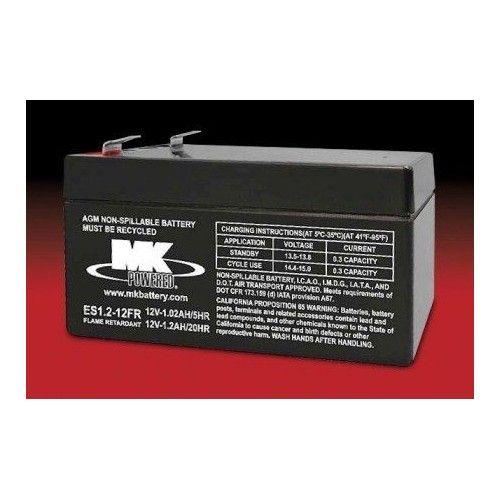 BATERIA Mk MK ES1.2-12FR 1.2Ah 12V MK - 1