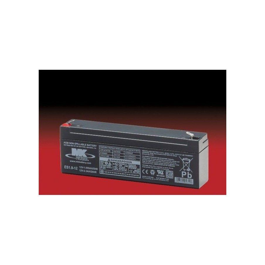 Batería MK ES1.9-12 2.3Ah 12V Agm MK - 1