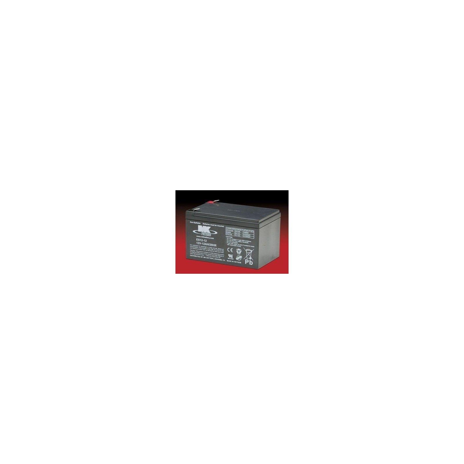 Battery MK ES12-12 12Ah 12V Agm MK - 1