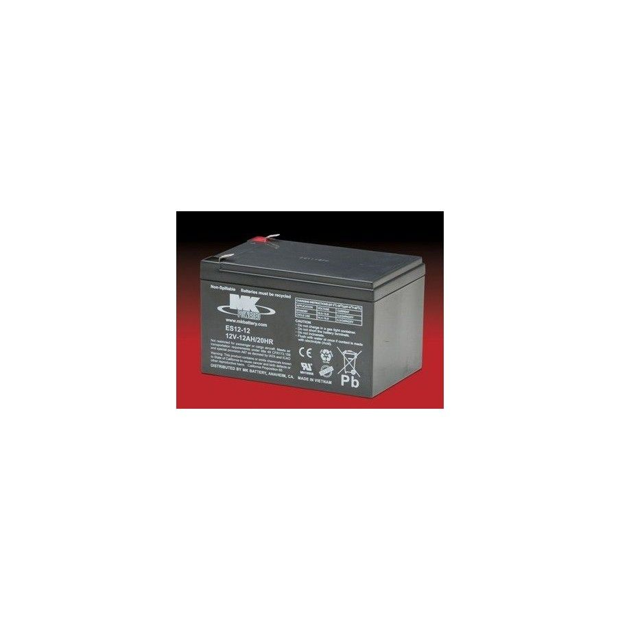 Batería MK ES12-12 12Ah 12V Agm MK - 1