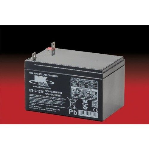 Batería MK ES12-12TE 12Ah 12V Agm MK - 1
