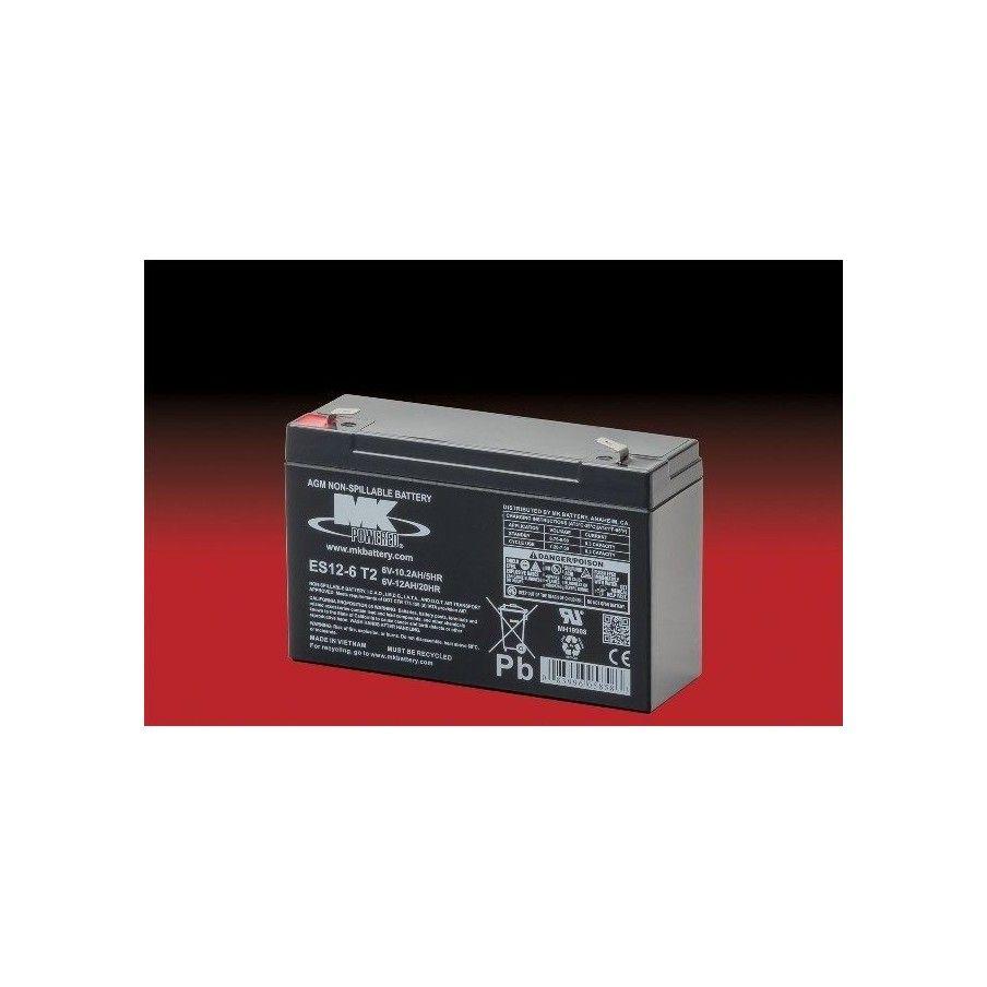 Batería MK ES12-6 T2 12Ah 6V Agm MK - 1