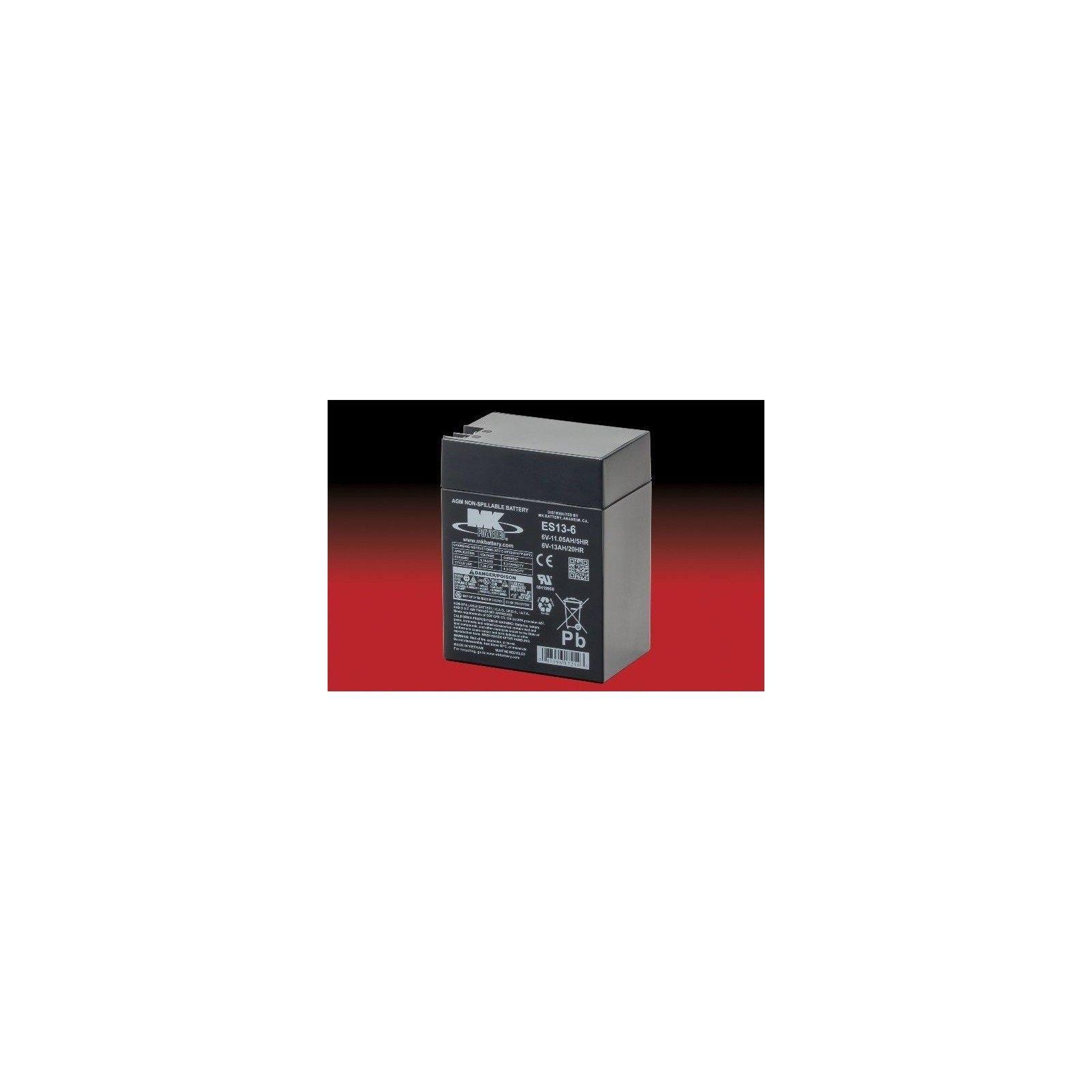 Batería MK ES13-6 13Ah 6V Agm MK - 1