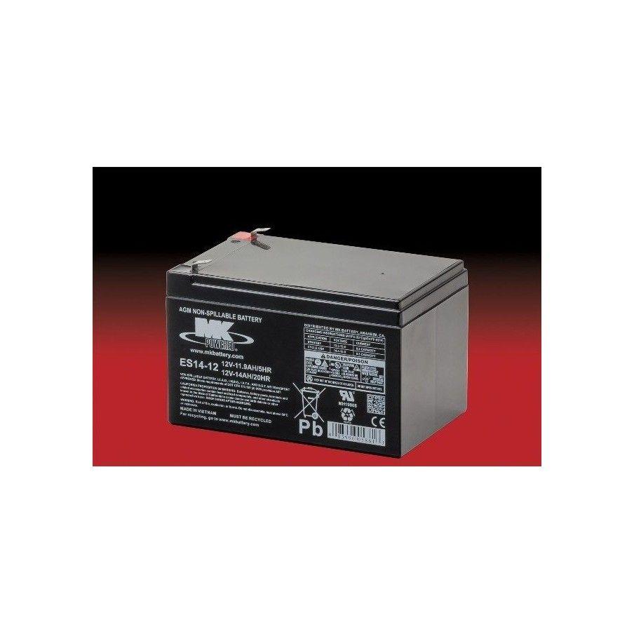 Batería MK ES14-12 14Ah 12V Agm MK - 1