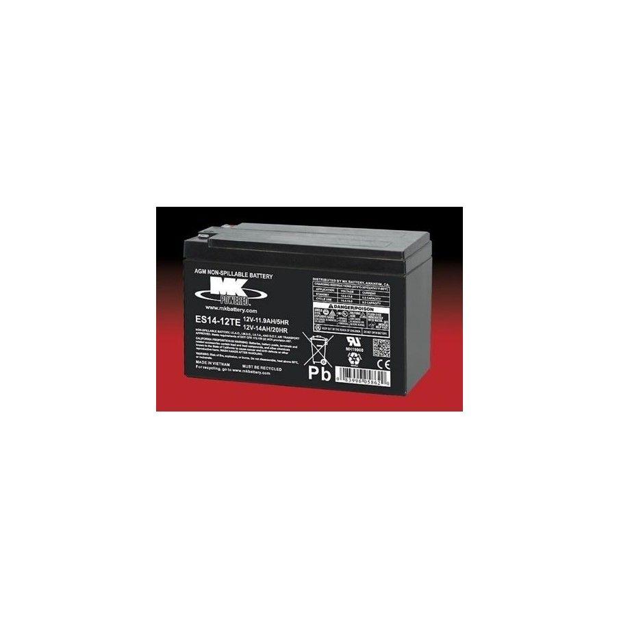 Batería MK ES14-12TE 14Ah 12V Agm MK - 1