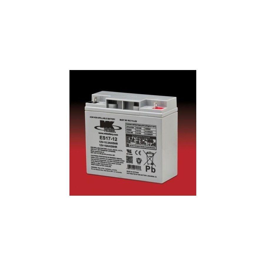 Batería MK ES17-12 18Ah 12V Agm MK - 1