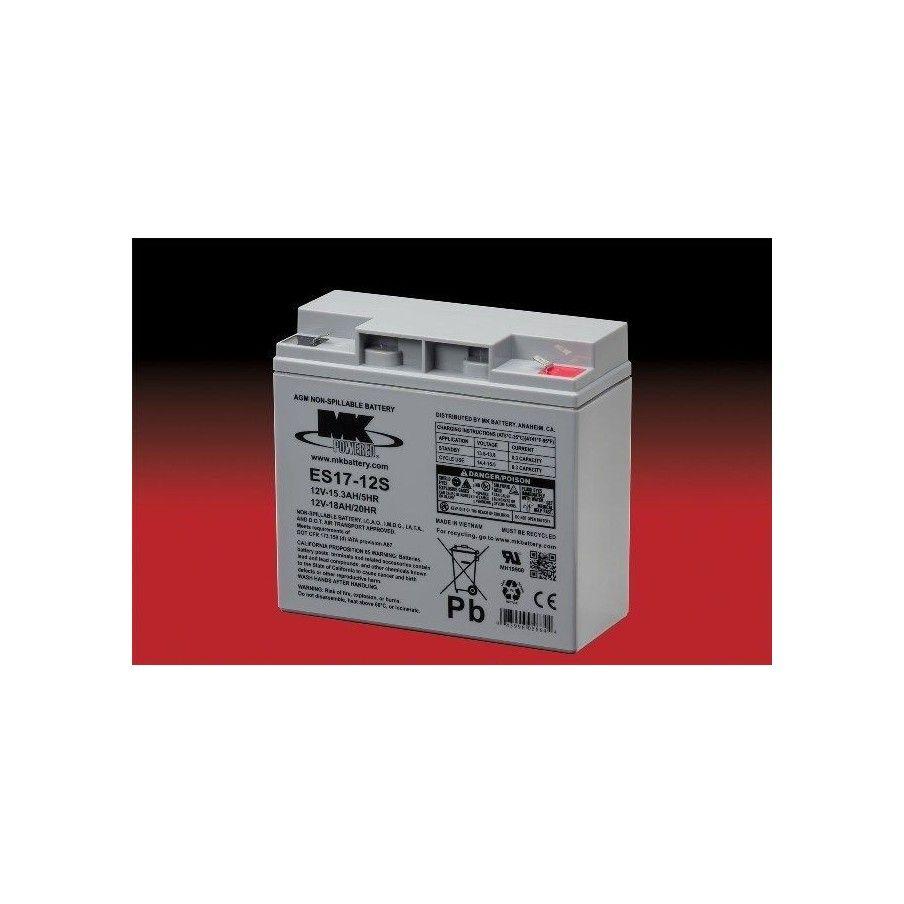 Batería MK ES17-12S 18Ah 12V Agm MK - 1
