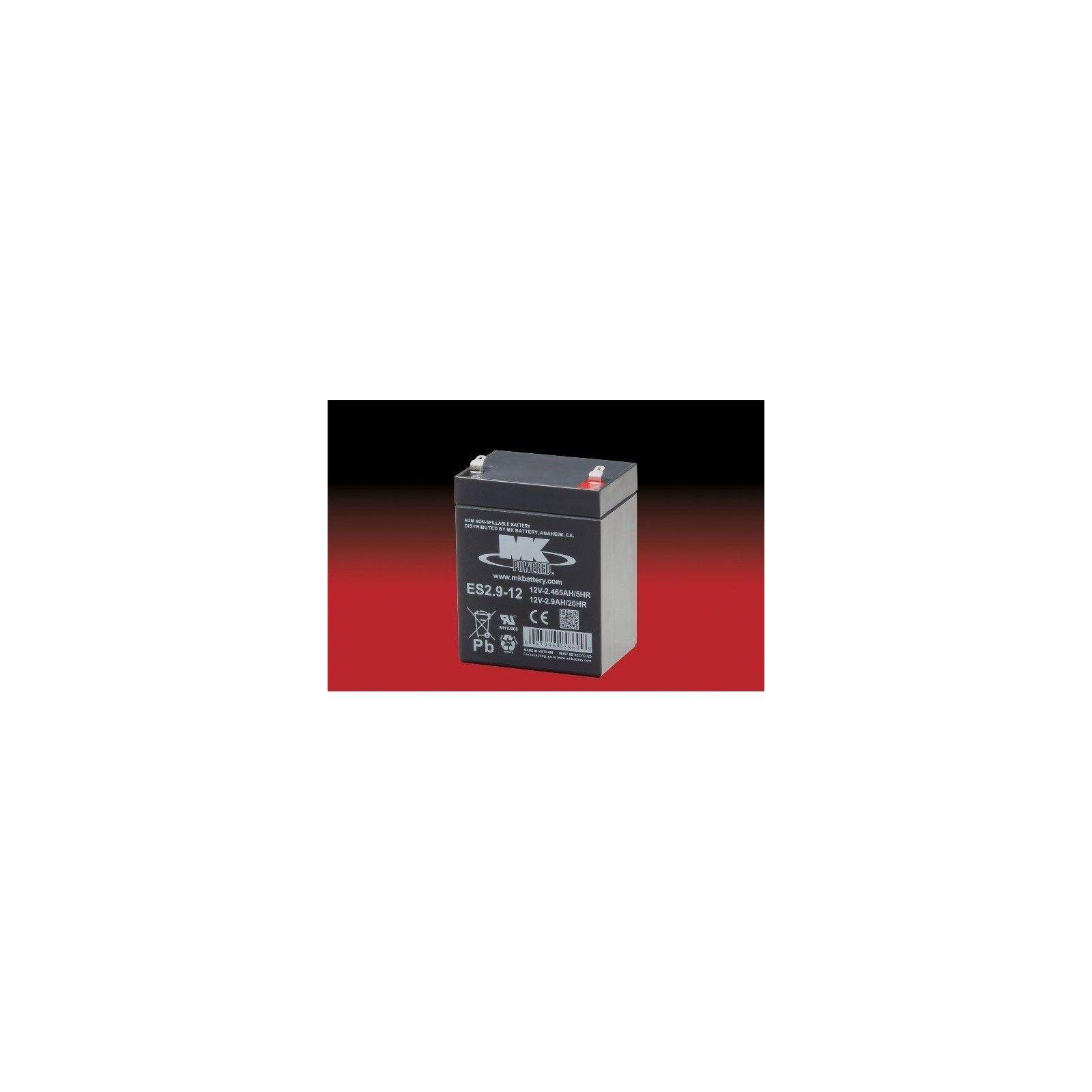 Batería MK ES2.9-12 2.9Ah 12V Agm MK - 1